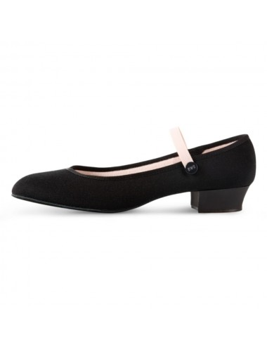 SO326-Accent Sapato caracter Low Heel